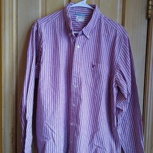 American Eagle Long Sleeve Shirt Size /L/ 💯 Cotto